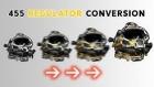 How To: Conversion Kit, 455 Regulator for KM 37, KM 57, SL 17C or SL 27® Helmet
