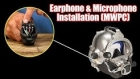 How To Install an Earphone and Microphone on Communications Module (MWPC)